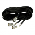 Shakespeare RG58 VHF kabel pakke 20 meter med 2 FME & 2