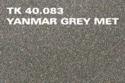 Silpar Spraymaling Yanmar Grey 400 ml.