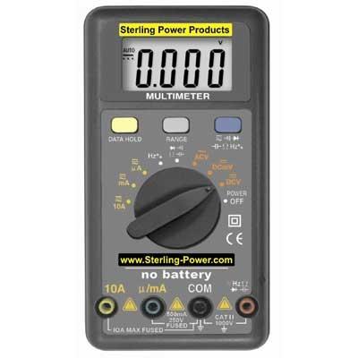Sterling Wind Up Multimeter