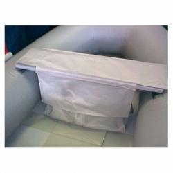 Toftetaske til gummibåd