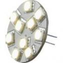 Led g4-kort 8-30v varmhvid pin back 2w