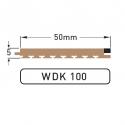 DEK-KING 50mm Caulked - 10 mtr.