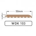 DEK-KING - 50mm Plain edge - 10 mtr