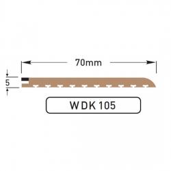 DEK-KING - 70mm Caulked margin - 10 mtr
