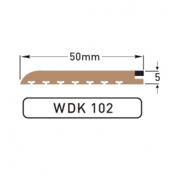 DEK-KING - Caulked margin - 10 mtr