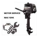 Konservering & Motorservice Max 10 hk. (Honda/Mercury)