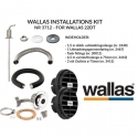 Wallas Installations kit for 22 Dt
