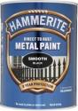 Hammerite Hammered Sort 750 ml.