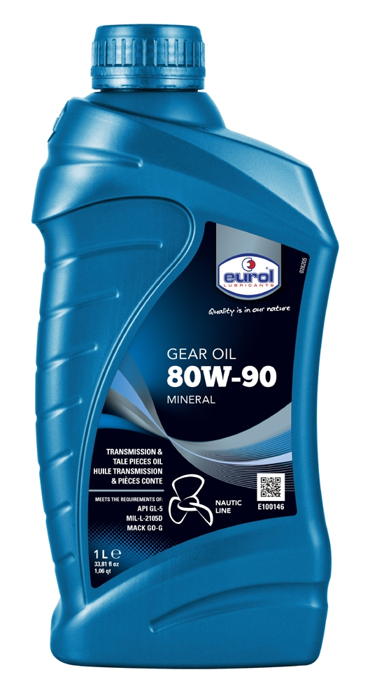 Eurol Gear Oil 80W90 - 1 ltr.