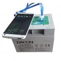 Dacon USB Batteri 12A