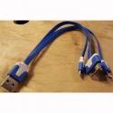 Telefonkabel til USB Batteri