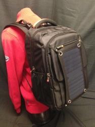 Solcelle Laptop Rygsæk 6,5W