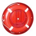 Redningskrans lifebuoy m/30m flyde line i rund beholder