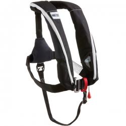 1852 aero plus vest iso 165n pro sensor sort m/harness & lys