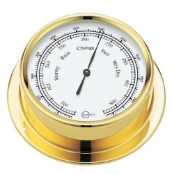 Barigo regatta barometer ø100/120mm messing