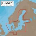 C-MAP Y299, DANMARK M/AUTORUTE (KUN VED KØB AF ELITE 5TI)