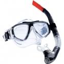 Dykkersæt voksen maske & snorkel sort