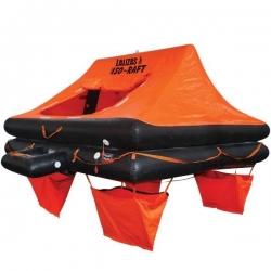 Lalizas iso 9650-1 redningsflåde i container til 10 personer