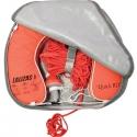 Lalizas lifelink hestesko sæt m/line & lys i grå uv betræk