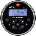 Ltc pro 1111bt rund marineradio sort/chrom