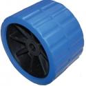Løs siderulle blå, hul ø18,5 standard
