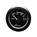 Wema Voltmeter 24 Volt Sort