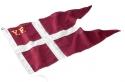 YF FLAG 125 cm. (65x125) broderet