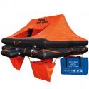 Lalizas iso 9650-1 redningsflåde i taske til 6 personer
