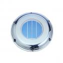 Solcelle Ventilator M/Batteri & Kontakt