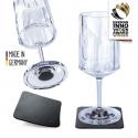 Silwy High-tech glas - Vin 2 stk