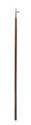 Bådshage Ø30mm L210cm lakeret træ