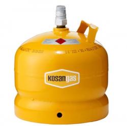 Kosan Gas 5 kg. Stål - Kun gas