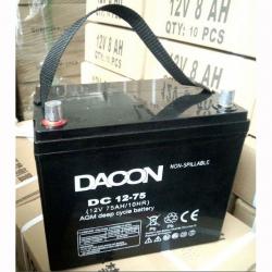 Dacon AGM Batteri 75A