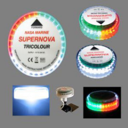 NASA Supernova Trefarvet LED lanterne