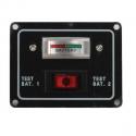 Batteritest Panel
