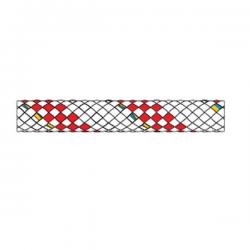 Liros Herkules Hvid/Rød 10 mm.