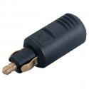 Hanstik lille 12/24 volt 8 amp. din en iso 4165