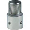 Shakespeare 4705 Rustfri adaptor. 25mm rør til 1 1D-14mm han