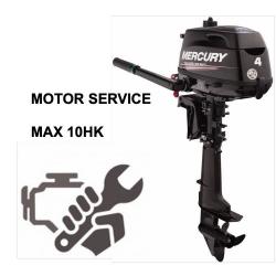 Konservering & Motorservice Max 6 hk. (Honda/Mercury)