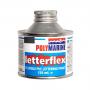 Polymarine Letterflex 125 ml. PVC maling Sort