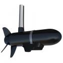 Spotlight scan transducer m/heading sensor